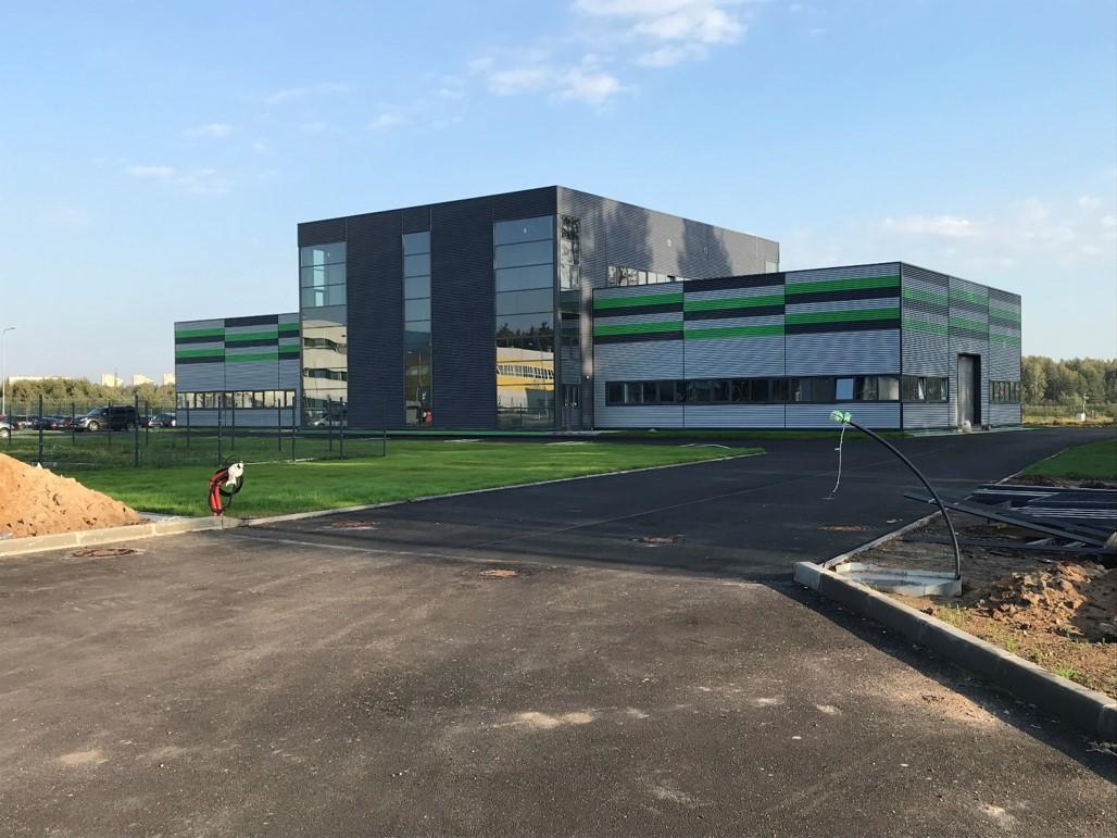 Научно-производственный комплекс «Силагнис» 1 этап строительства