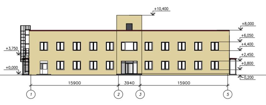 Административно-бытовое здание №1,2