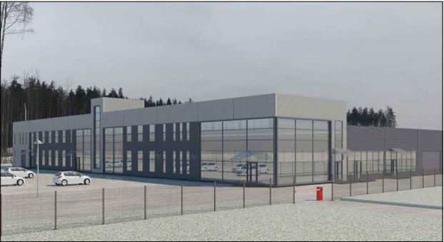 Научно-производственное здание для разработки и производства электроники