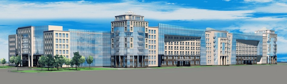 Эскизный проект многофункционального учебно-лабораторного центра «Технопарк Политехнический», площадью 99000 кв.м по адресу: СПб, ул. Гидротехников,