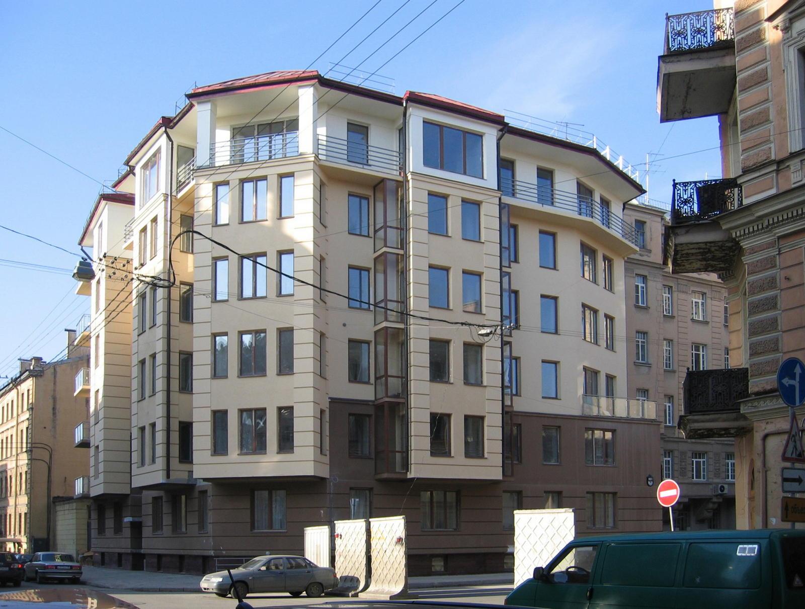 Индивидуальный жилой дом в пос. Белоостров, Ленинградская обл.
