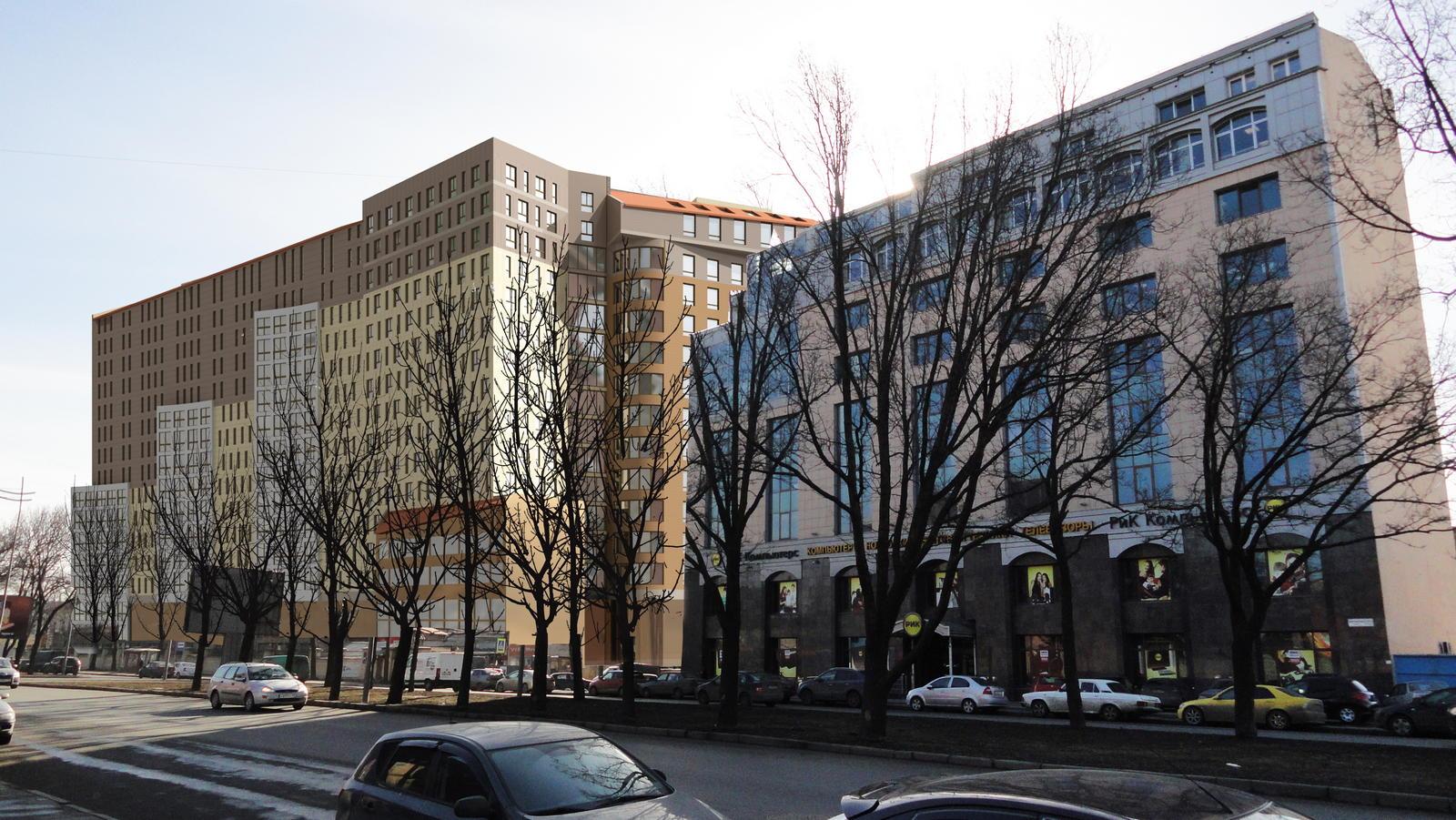 Строительство апартамент-отеля по адресу: СПб, Цветочная ул., д. 2.