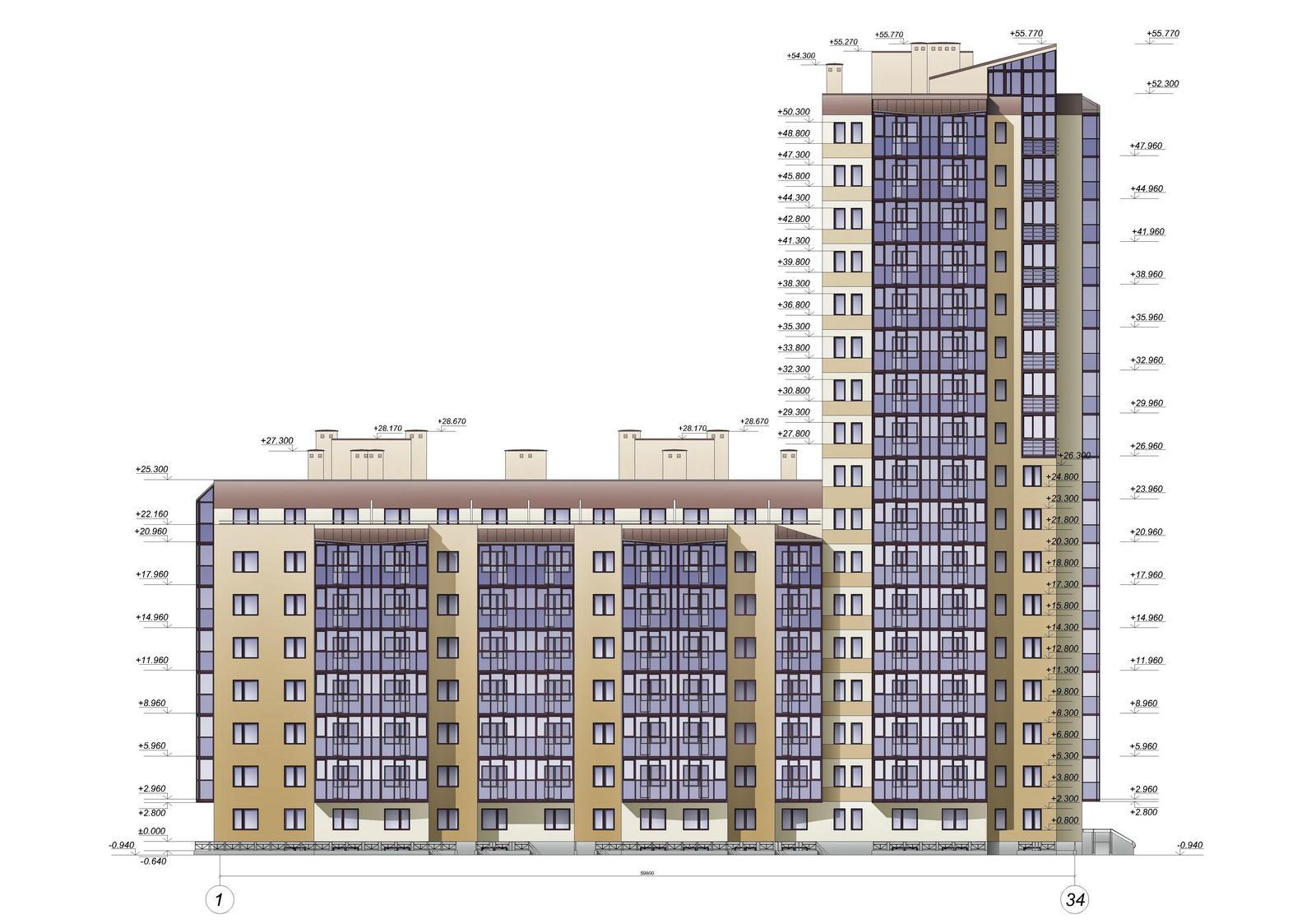 Строительство 8-17-этажного жилого дома  по адресу: СПб, пос.Шушары, Пушкинская ул., д. 12 (18Г).