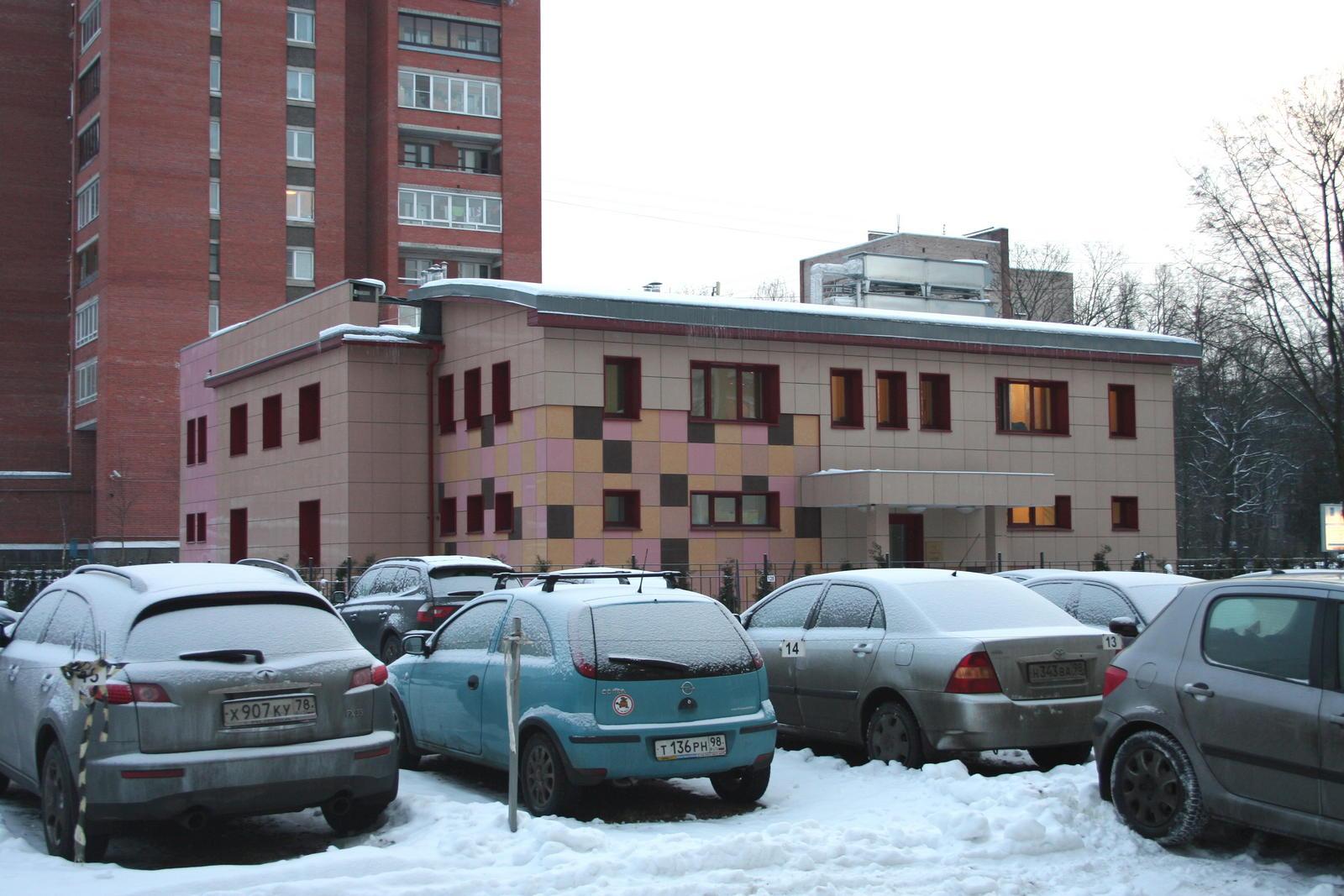 Реконструкция здания под медицинский центр пластической хирургии по адресу: СПб, пр.Энгельса, д.71,корпус 2, лит.Б.