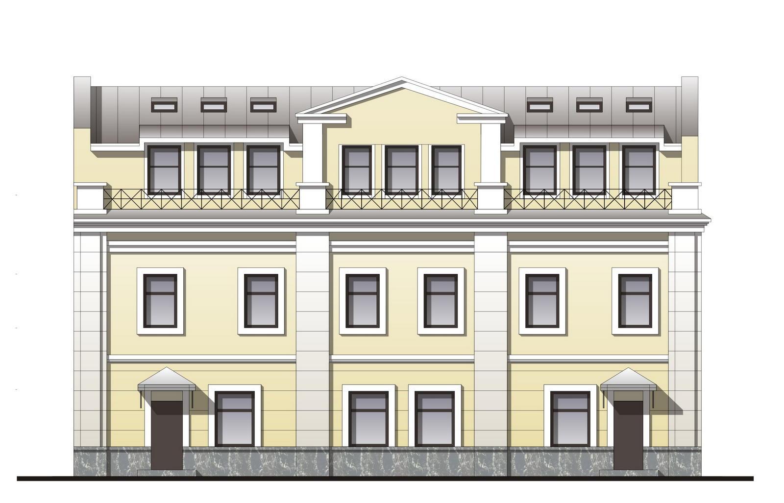 Реконструкция здания под медицинский центр по адресу: СПб, ул. Заставская, 34, лит.А.