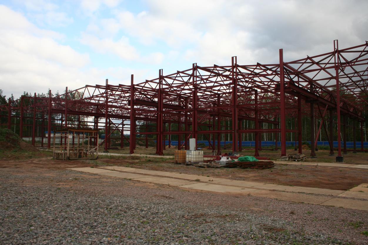 Фундаменты здания промышленного-исследовательского центра «Геотехнические Системы»