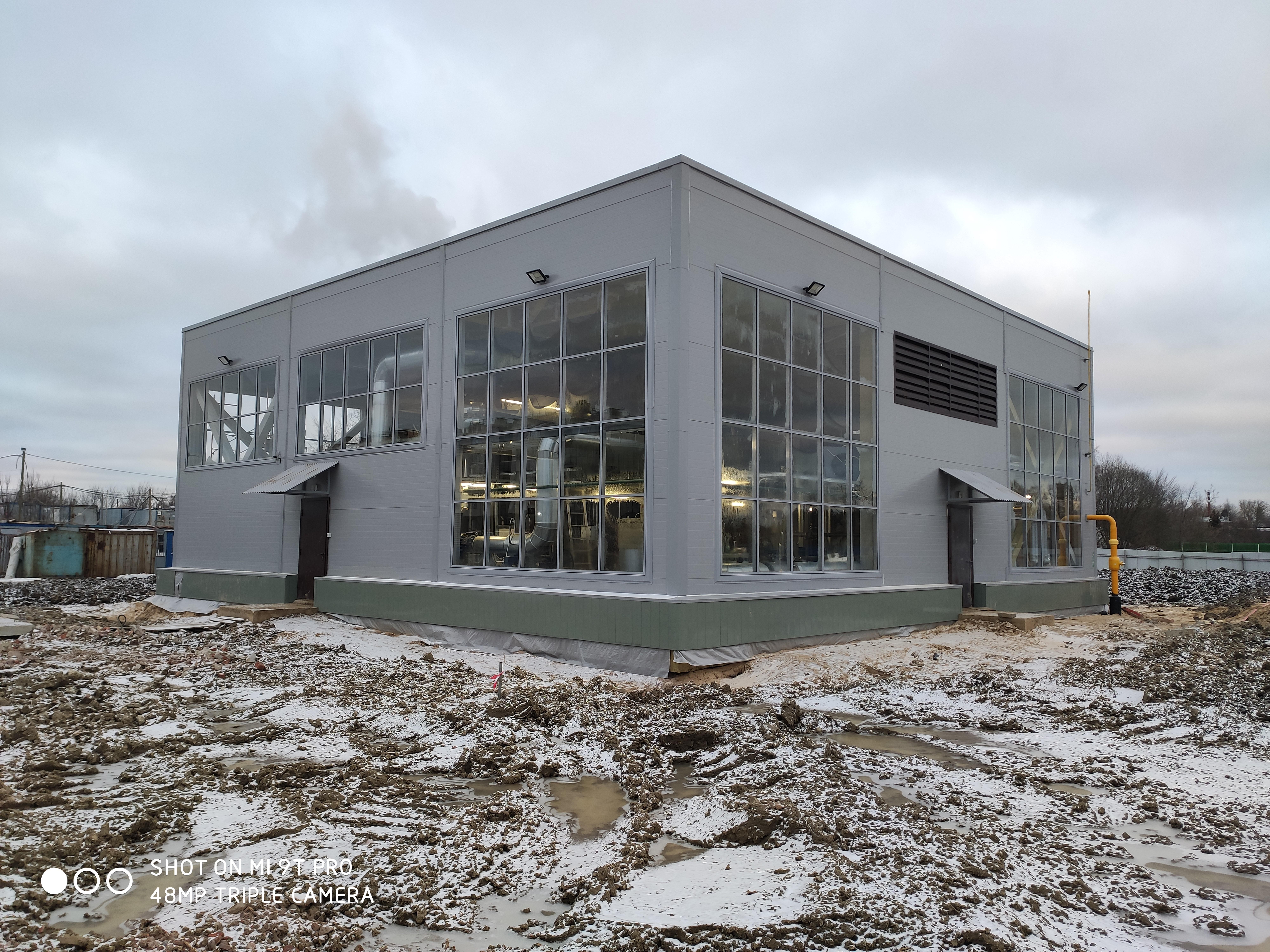 Здание водогрейной котельной