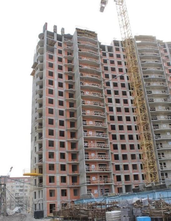 Комплекс многоквартирных жилых домов со встроенно-пристроенными помещениями, с торгово-развлекательным комплексом, фитнес-центром и автостоянками