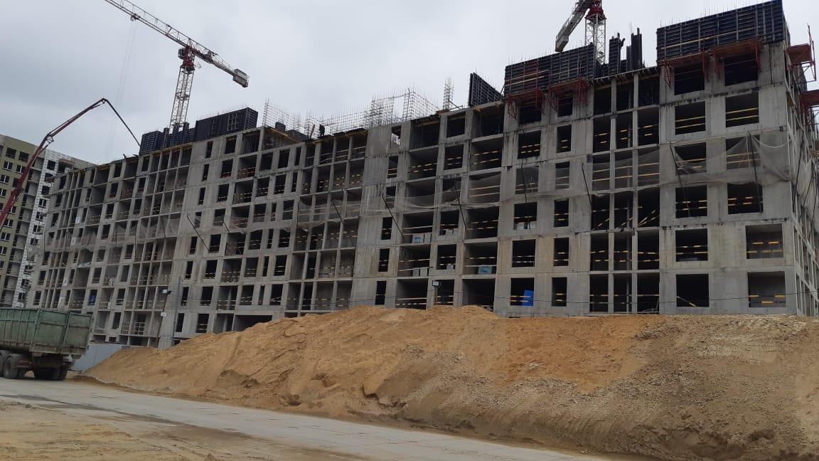 ЖК «Черная речка» - Многоэтажный жилой дом со встроенно-пристроенными помещениями и встроенно-пристроенным подземным объектом гаражного назначения